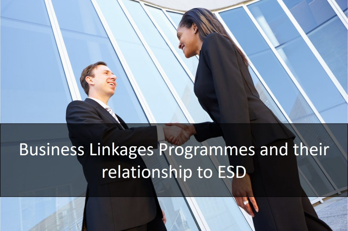 Business Linkages Programmes High Quality Image