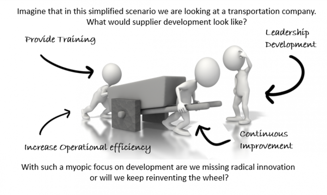 Supplier Improvement Guide Vector Illustration
