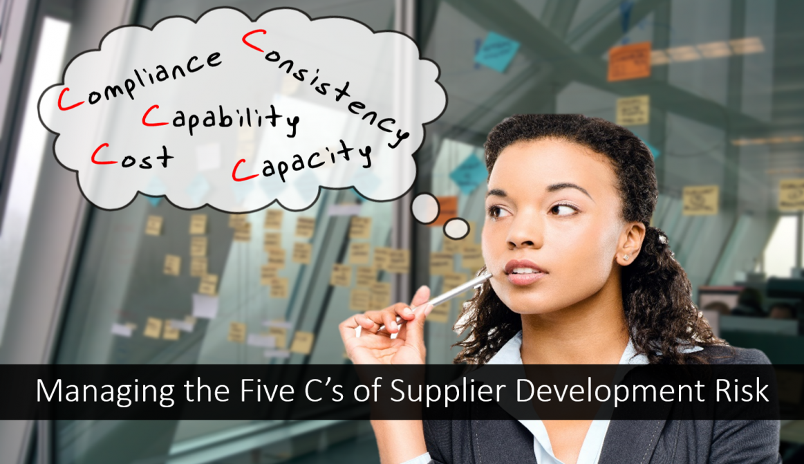 Five Cs of Supplier Development Risk