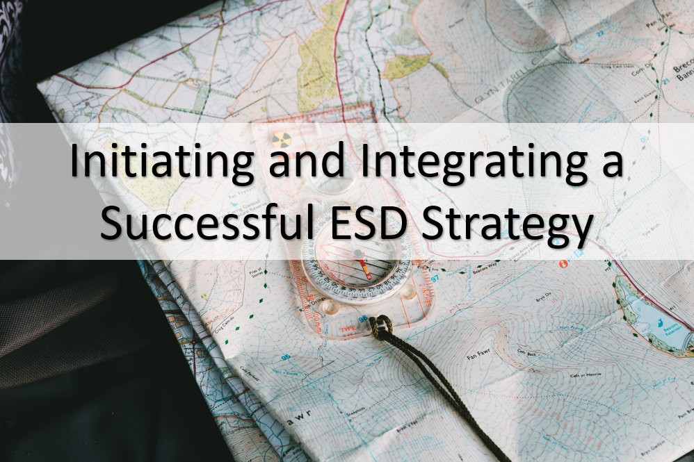 Integrating a Successful ESD Strategy Menu Image