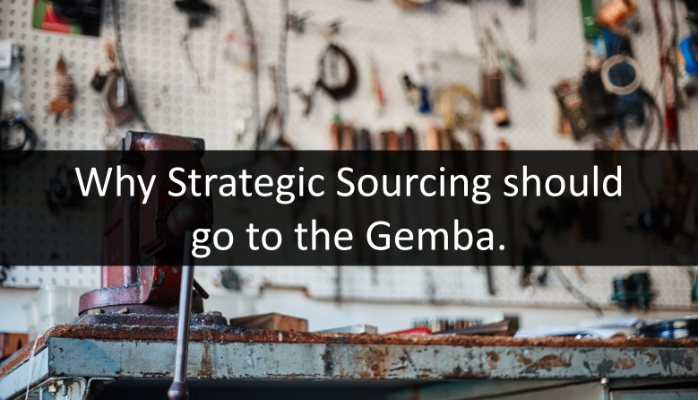 Strategic Sourcing go to Gemba Menu Image