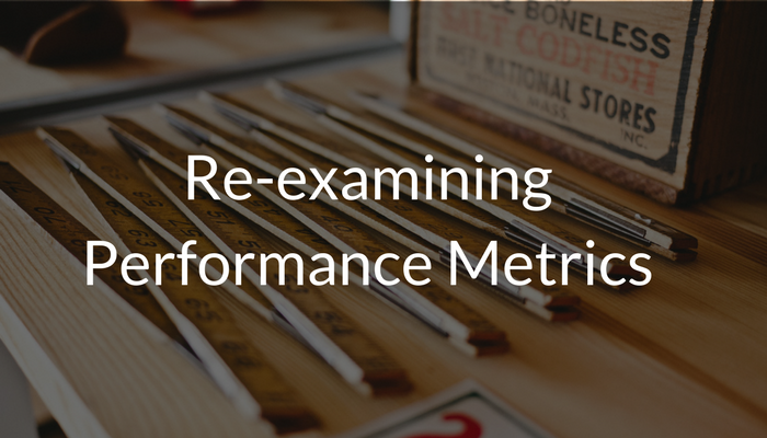 Re-examining Performance Metrics Menu Image