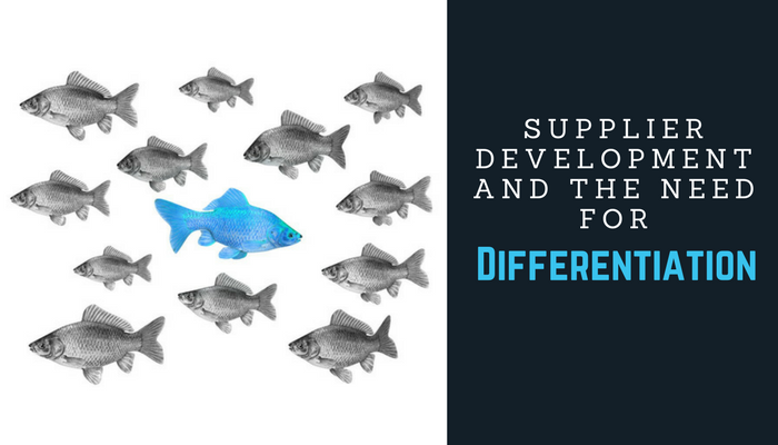 Differentiation in Supplier Development