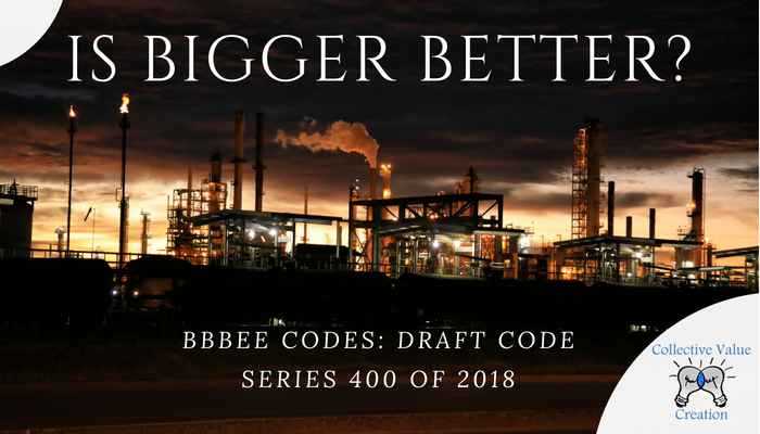 Code Series 400 BBBEE Codes